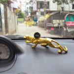 Jaguar Car Dashboard Decoration Mobile Holder