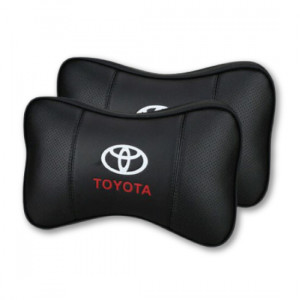 TRD PU Leather Head Rest Pillow