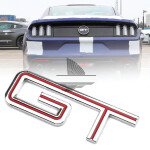3D Emblem GT Metal Logo Sticker