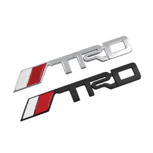 3D TRD Metal Logo Sticker
