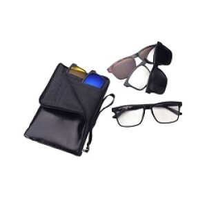 6 in 1 Magnetic Night Vision Sunglass