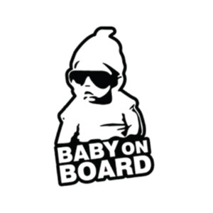 Baby on Board Reflective Sticker