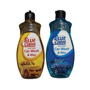 Blue Coral High Foam Car Wash & Wax