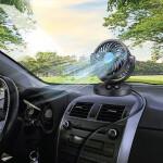 Car 360 Degree Single 12V Cooler Fan