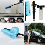 Car Cleaning Washing Brush With Pump