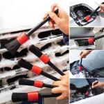 Car Detailing Brush 5 Pieces Set