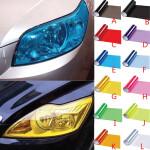 Car Headlight Shiny Translucent Change Color Film Sticker