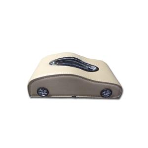 Car Shape Dashboard Tissue Box (Beige Color)