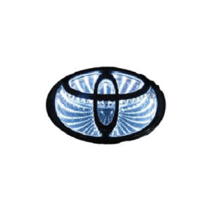 Car Styling 5D Emblem Logo Light