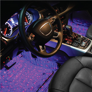 Car Under Seat Decoration Multi color Lights