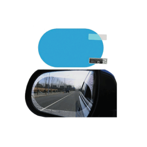 Car Water, Mist and Fog Protective Film for rear view mirror