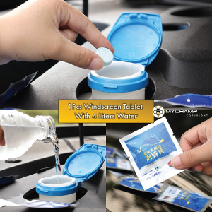Car Windshield Cleaning Washer Tablet