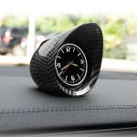 Carbon Fiber Car Dashboard Clock