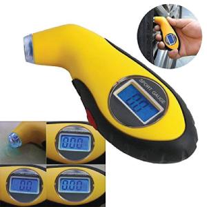 Digital LCD Car Tyre Air Pressure Gauge Meter