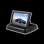 Foldable Car Monitor 4.3 Inch Color LCD TFT Display Monitor