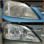 Headlight Restoration Cleaning Tools
