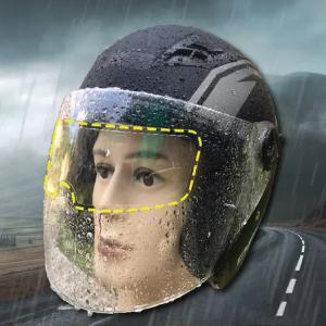 Helmet Rain Protection Film