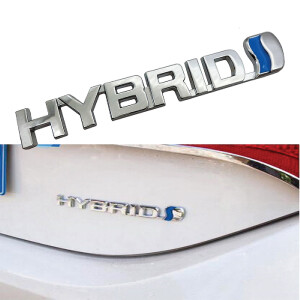 Hybrid Metal Emblem Sticker