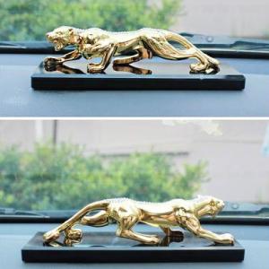 Jaguar Car Dashboard Decor