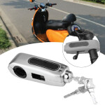 Motorcycle Security Grip Lock