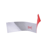 Night Driving Safety Red White Reflective Strip