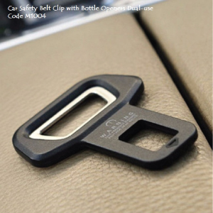 Safety Belt with Bottle Openers