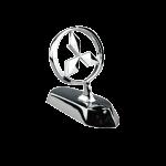 Stainless Still Mitsubishi Car Bonnet Logo