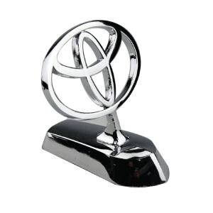 Stainless Still Toyota Car Bonnet Logo