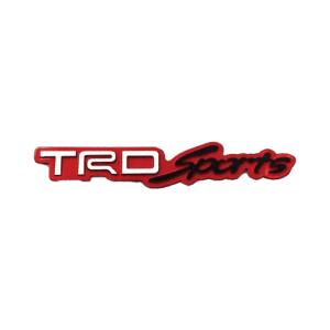 TRD Sports Type Metal Sticker